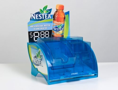 Nestea straw dispenser