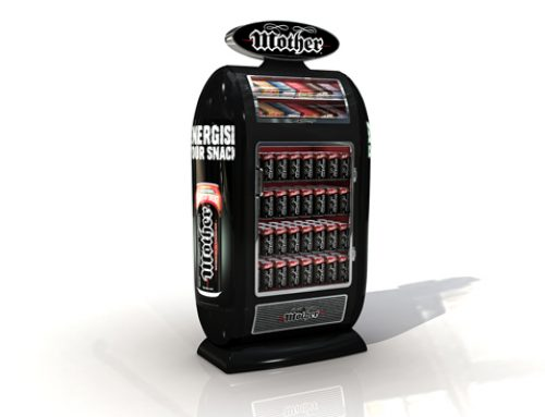 Energy drink mini fridge